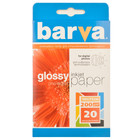 Бумага BARVA глянцевая (IP-C200-026), 10x15, 20 листов Код товара 1289