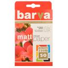 Бумага BARVA матовая (IP-A230-023), 10x15, 50 листов Код товара 1321