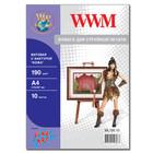 """Бумага WWM Fine Art матовая """"Кожа"""" 190 г/м2 (ML190.10), А4, 10 листов Код товара 11143"""
