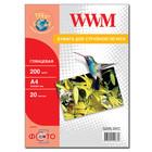 Бумага WWM глянцевая 200 г/м2 (G200.20/C), А4, 20 листов Код товара 5056