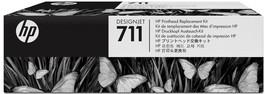 Печатающая головка HP C1Q10A №711, black *13148