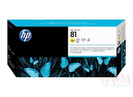 Печатающая головка HP C4953A №81, yellow Код товара 9001