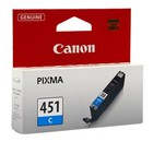 Картридж Canon CLI-451C (6524B001), cyan Код товара 12589