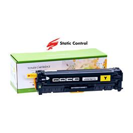 Картридж HP CLJ CC532A (304A) Static Control 2.8k, yellow Код товара 16997