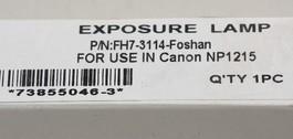 Лампа экспозиции Canon  NP1215 (175v-330W) ,Foshan (FH7-3114-Foshan) *4093