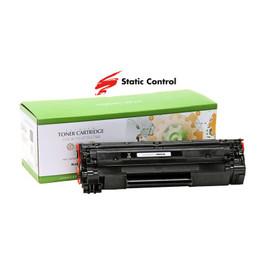 Картридж Canon 725/HP LJ CB435A/CB436A/CE285A, Static Control, black (002-01-SB435AU) Код товара 21986