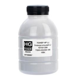 Тонер HP LJ 1010/1200/1160/1320/2055, 100g., (HG22A) (TSM-HG22A-100) HG toner Код товара 25235