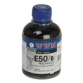 Чернила Epson Stylus Photo Universal, WWM, 200г., black, (E50/B) Код товара 1432