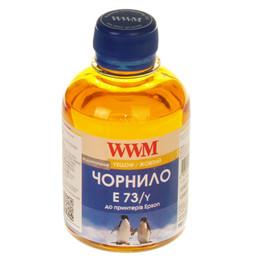 Чернила Epson T073, WWM, 200 г., yellow, (E73/Y) Код товара 1425